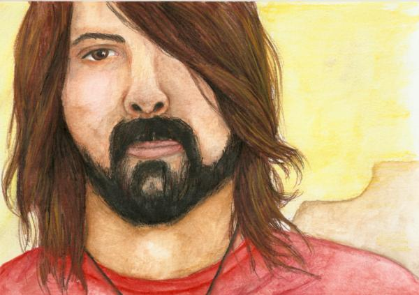 Dave Grohl by Fiery-Sky
